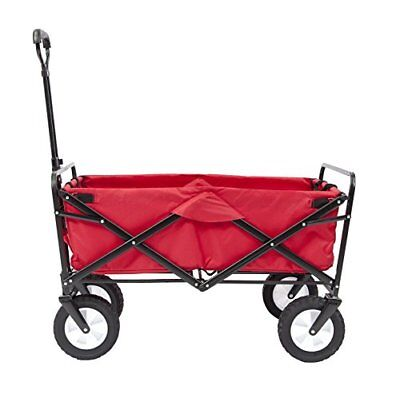 Mac Sports Collapsible Folding Outdoor Utility Wagon, R