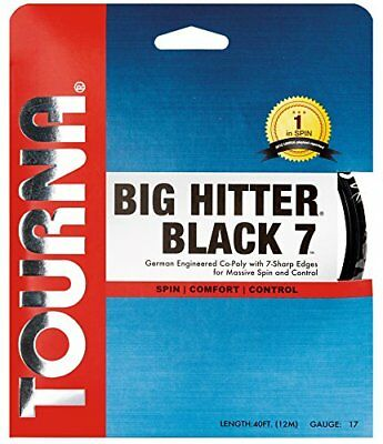 Tourna Big Hitter Black7 Ultimate Spin Polyester Tennis