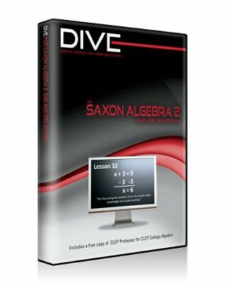 Dive Cd-ROM for Saxon Algebra 2 2nd & 3rd Edition