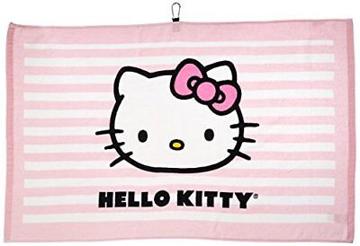 Hello Kitty Golf Tour Towel (Pink)