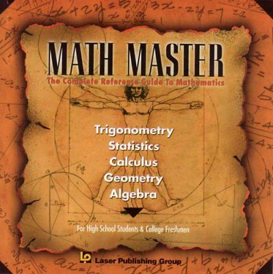 MATH MASTER; The complete Reference Guide to Mathematic