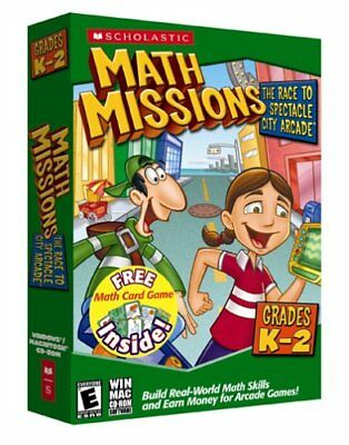 Math Missions with Card Game Kindergarten-2nd Grade [Ol