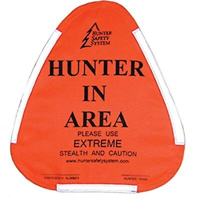 Hunter Safety System Hunter Warning Sign