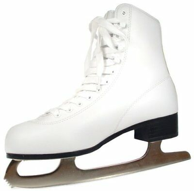 American Athletic Shoe Women's Tricot Lined Ice Skates,