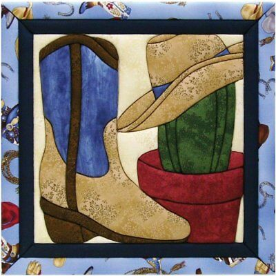 Quilt Magic 12-Inch by 12-Inch Wild West Kit