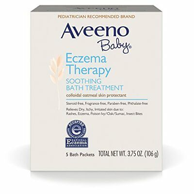 Aveeno Baby Eczema Therapy Soothing Baby Bath Treatment