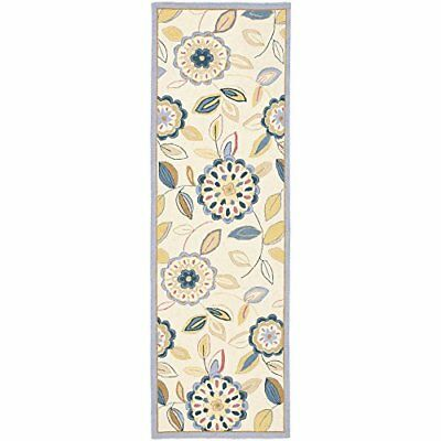 Safavieh Chelsea Collection HK179A Hand-Hooked Ivory an