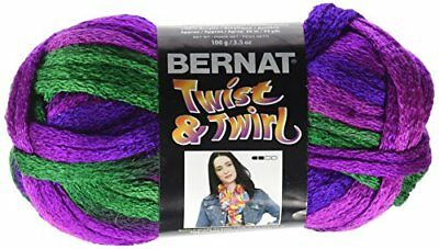 Bernat Twist 'n Twirl Yarn, Jazzberry
