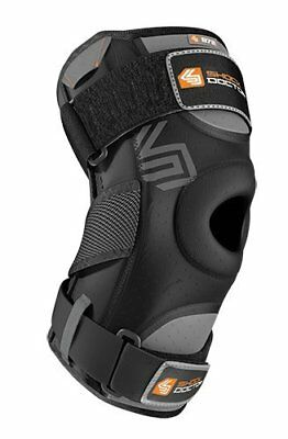 Shock Doctor Knee Support with Dual Hinges (Black, Medi