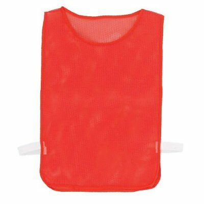 US Games Youth Nylon Pinnies, Red (One Dozen)
