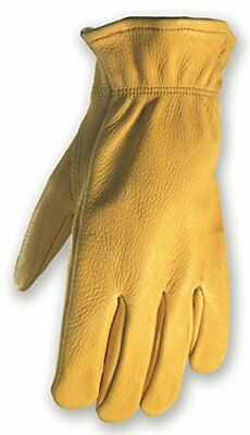 Deerskin Driver Gloves, Full Leather Work and Driving G