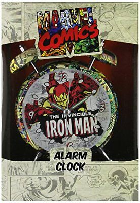 Marvel Retro Ironman Alarm Clock