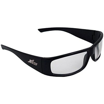 ERB 17922 BoasXtreme Safety Glasses, Black Frame with S