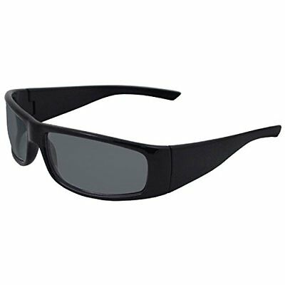 ERB 17921 BoasXtreme Safety Glasses, Black Frame with S