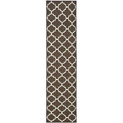 Safavieh Dhurries Collection DHU554C Hand Woven Brown a