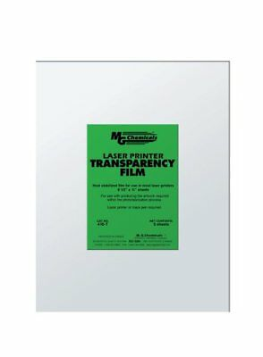 """MG Chemicals PET Transparency Film Sheet, 11"""" Length x"""