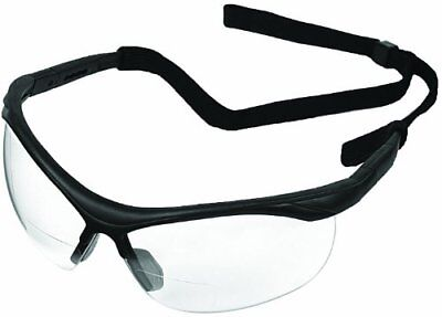 ERB 16870 ERBx Safety Glasses with +1.0 Bifocal Power,