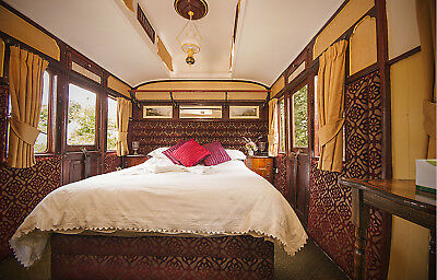 A holiday in a boutique railway carriage for Port Eliot Festival weekend 2018