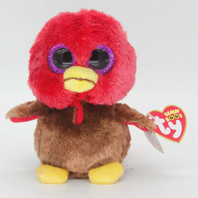 "Ty Beanie Boos 6"" Small Bird Stuffed Plush Toy Soft Animals Toy Baby Plush Dolls"