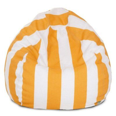 Majestic Home Goods Bean Bag, Small, Vertical Stripe, Y