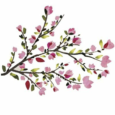 RoomMates RMK2408SCS Blossom Branches Peel and Stick Wa