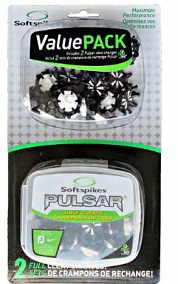 Softspikes Pulsar Golf Cleat Fast Twist Value Pack
