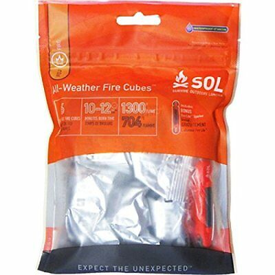 Survive Outdoors Longer All-Weather Fire Cubes