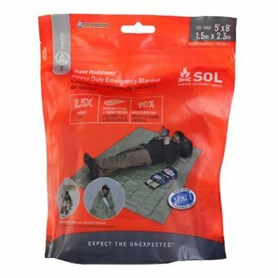 S.O.L. Survive Outdoors Longer Heavy Duty Emergency Bla