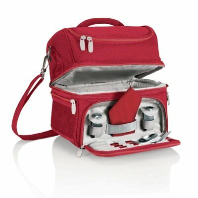 Picnic Time 'Pranzo' Insulated Lunch Tote, Red