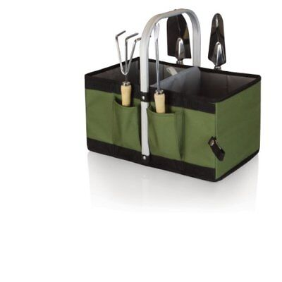 Picnic Time Garden Caddy with Tools