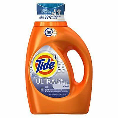 Tide Liquid Laundry Detergent, Ultra Stain Release, 46