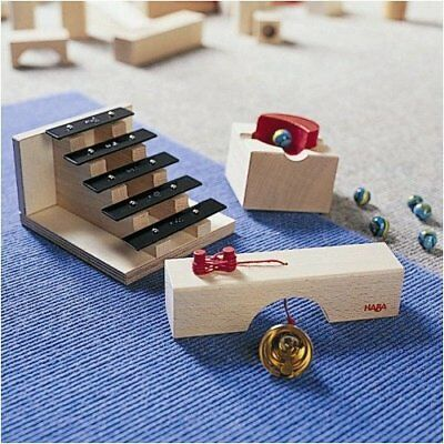 HABA Sound Staircase - Marble Ball Track Accessory (Mad