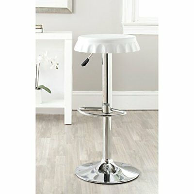 Safavieh Home Collection Bunky White Adjustable Swivel