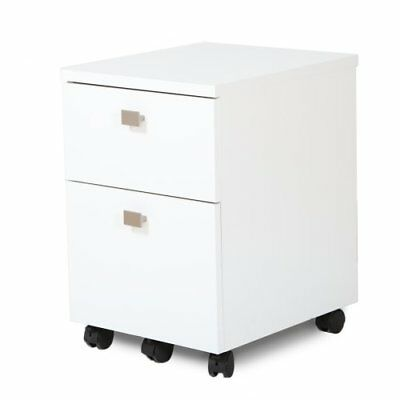 South Shore Interface 2-Drawer Mobile File Cabinet, Pur