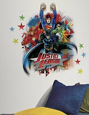 RoomMates RMK2165GM Justice League Peel and Stick Giant