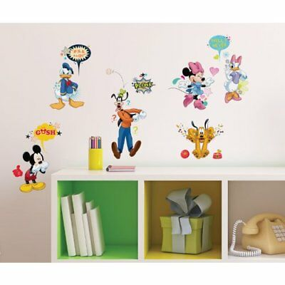 RoomMates RMK2534SCS Mickey and Friends Animated Fun Pe