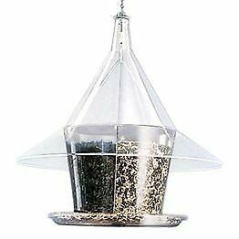 The Sky Cafe Clear Feeder w/ Dividers