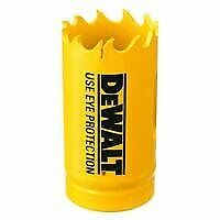 "DEWALT D180016 Bi-Metal Hole Saws 1"" Heavy-Duty Hole Sa"