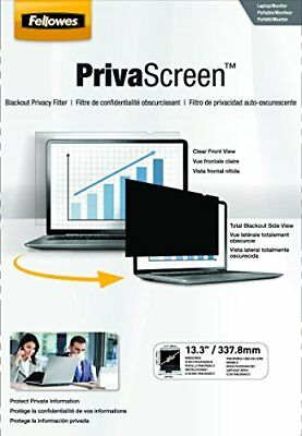 Fellowes PrivaScreen Privacy Filter for 13.3 Inch Wides