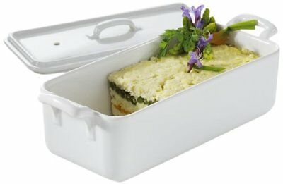 Revol Belle Cuisine White Rectangular Porcelain Terrine