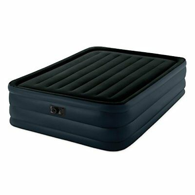 Intex Raised Downy Airbed with Built-in Electric Pump,