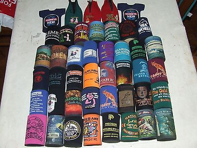 Stubby Holders - assorted style - 39 in total - party help - collectible - bar