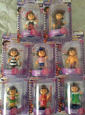 Dora The Explorer Explores The World Figure Collection, Visa Sticker~ Choose Own
