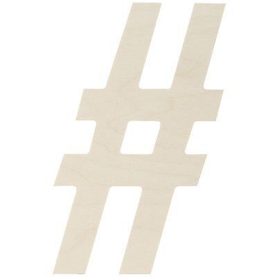"""Baltic Birch Collegiate Font Letters & Numbers 13.5""""-Sy"""
