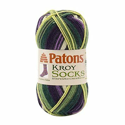 Spinrite Kroy Socks Yarn Bramble Stripes