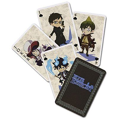 Blue Exorcist Playing Cards