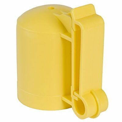 Fi-Shock ITCPY-FS T-Post Safety Cap and Insulator, Yell