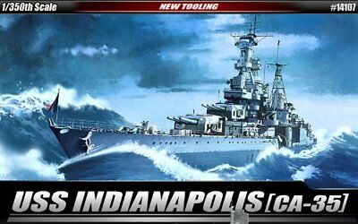 USS Indianapolis CA35 Heavy Cruiser (New Tool) 1/350 Ac