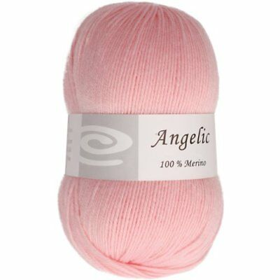 Elegant Yarns Angelic Yarn, Powder Pink