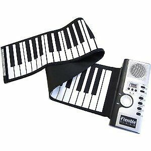 Electronic roll piano electronic piano portable roll pi